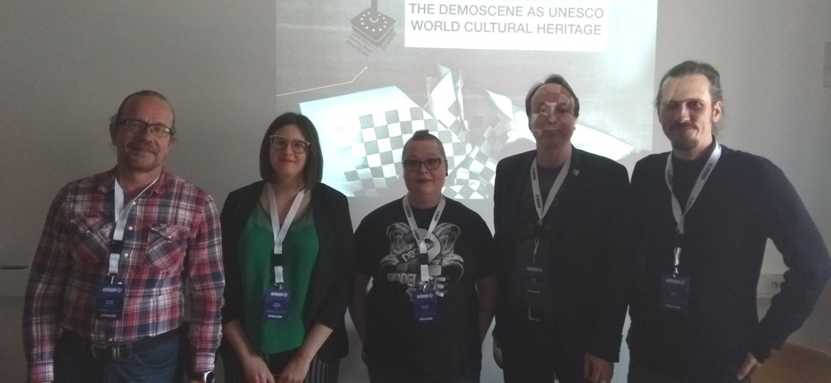 art of coding launch demoscene 2019 unesco