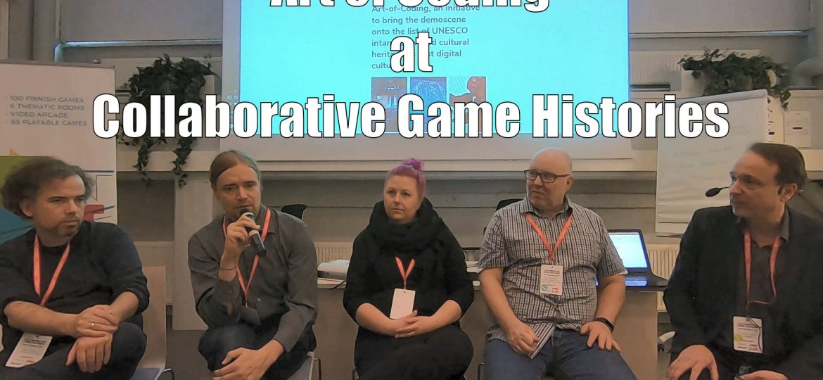 Art of Coding Panel discussion - Finnish Museum of Games
